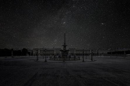 Thierry Cohen, 'Paris 48° 51' 52'' N 2021-07-14 Utc 22:18', 2012