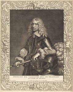 Robert Nanteuil after Jean Nocret, 'Francois, Duc de Beaufort', 1649