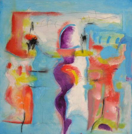 Carol Massa, 'Walking with a Friend', 2016