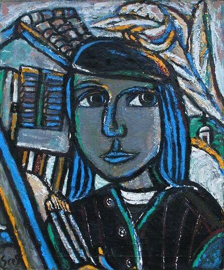 Greg Tricker, 'The Mystic Peasant / Self Portrait', 2011