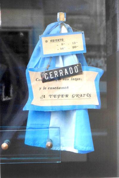 "Facundo de Zuviría, 'From the series ""Estampas Porteñas"", ""Closed, Microcenter""', 1986"