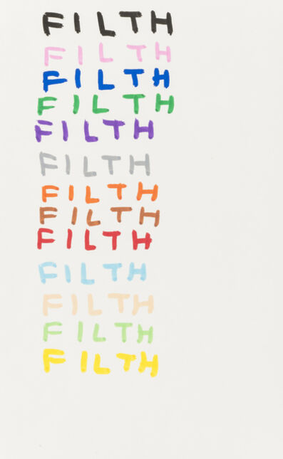 David Shrigley, 'Filth', 2007