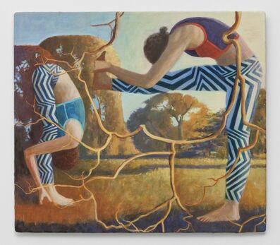 Benjamin Senior, 'Magnetic North (with twigs)', 2013