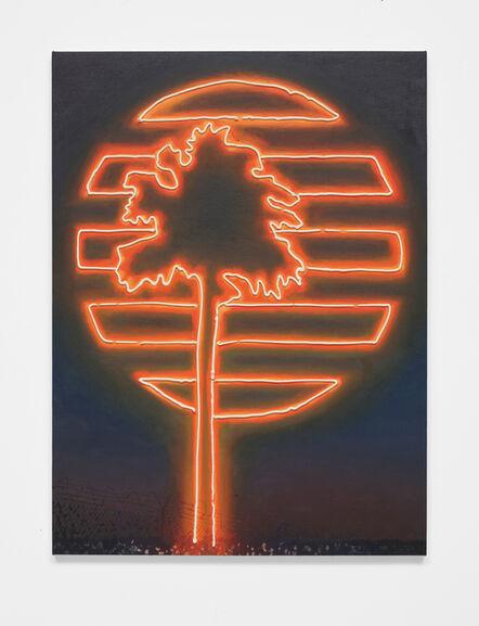 Joey Wolf, 'Palm at night', 2021