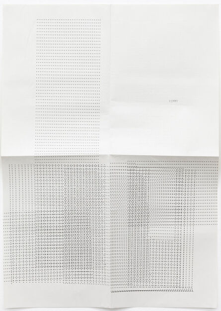 Sue Tompkins, 'Untitled (Text reads: Remmy)', 2012