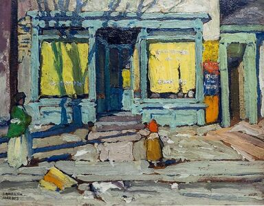 Lawren Stewart Harris, 'Saturday Morning', 1920