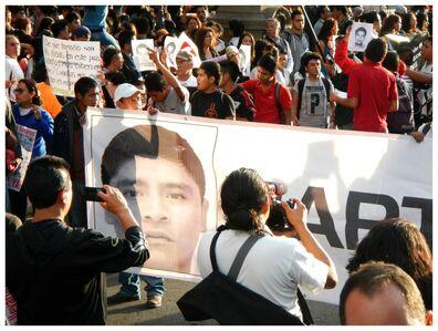Gustavo Speridião, 'Ayotzinapa Vive! Mexico City, 2014.', 2015