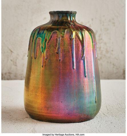 Clément Massier, 'Drip Vase', circa 1900-1901