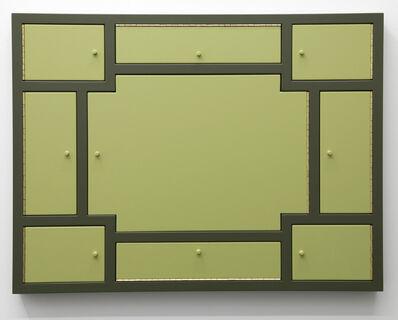 Birgir Andrésson, 'Cabinet No. 17', 2000