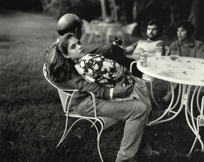 """Sally Mann, 'Untitled from the """"At Twelve"""" Series, Leah and her Father', 1983-1985"""