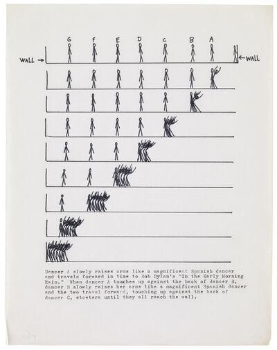 Trisha Brown, 'Spanish Dance, part of Accumulating Pieces', 1973