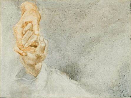 Zhou Zixi, 'A Study about Painting Hands-002 ', 2014