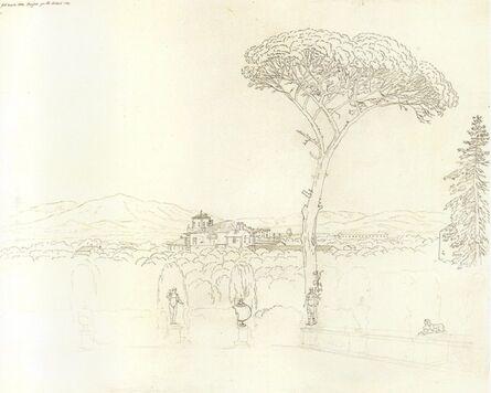 Jakob Philipp Hackert, 'View of the Valdienievole from Collodi', 1802