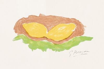 Georges Braque, 'Les Citrons (Lemons)', 1954
