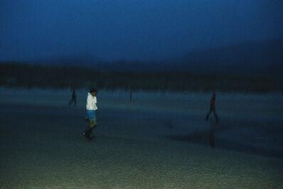 Nan Goldin, 'Vivienne Tripping on the Beach', 1979