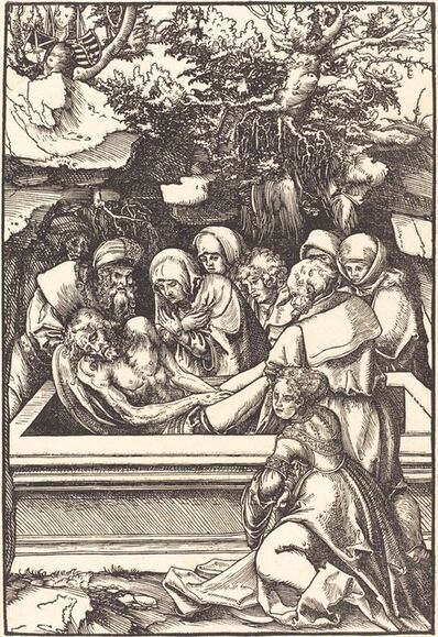 Lucas Cranach the Elder, 'The Entombment', in or before 1509