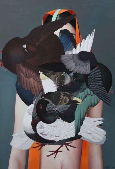 Ling Jian, 'Falling Ancient Birds', 2016