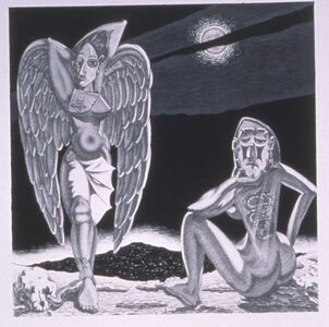 Benito Huerta, 'Noches de la Frontera', 2000