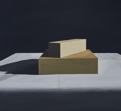 Tim Zuck, 'Two Shapes (#177)', 1988