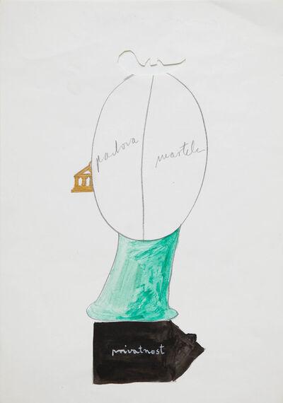 Vlado Martek, 'Privat (Private)', 1982