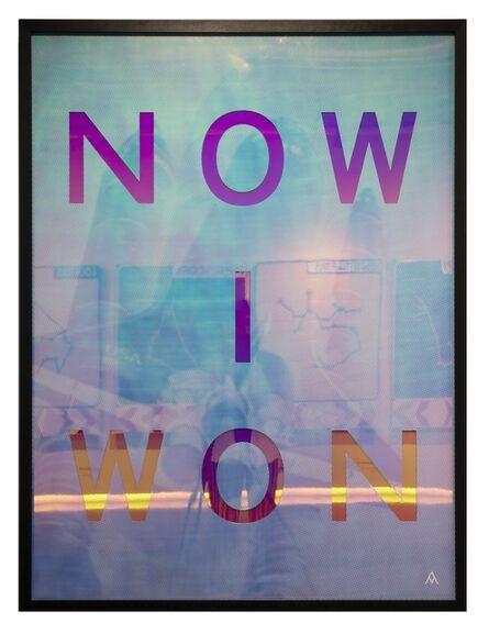 Massimo Agostinelli, 'NOW I WON', 2018
