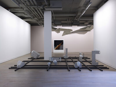 "Morgane Tschiember, 'View of the exhibition ""Seuils"", Fondation d'entreprise Ricard, Paris ', 2012"
