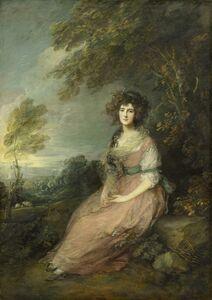 Thomas Gainsborough, 'Mrs. Richard Brinsley Sheridan', 1785-1787