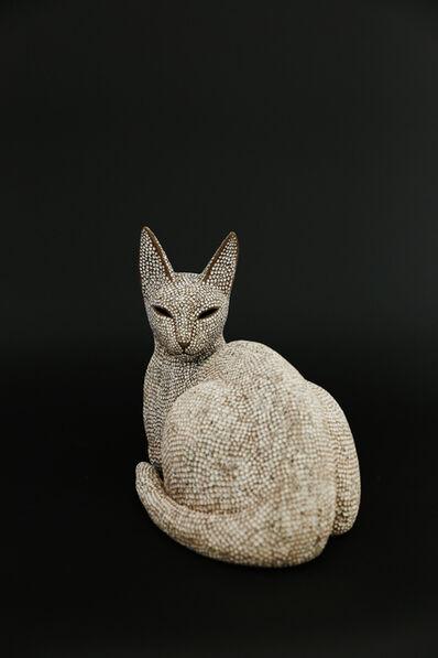Mokichi Otsuka, 'Looking back cat', 2017