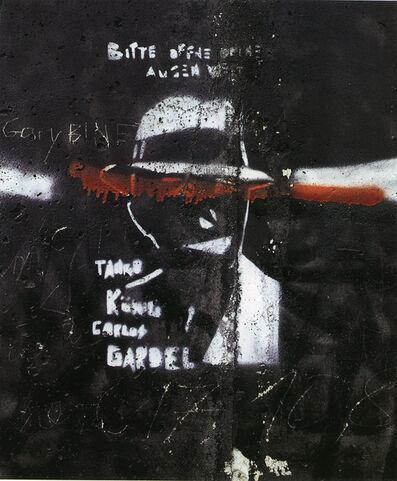 Leland Rice, 'Carols Gardel (The Tango King)', 1987-1989