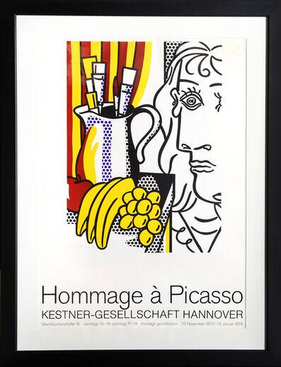 Roy Lichtenstein, 'Hommage a Picasso - Kestner-Gesellschaft Hannover', 1973-1974