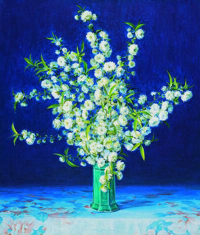 Hoon Chill Kwon, 'Still life - Flowers', 1995
