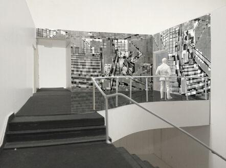 Katharina Gaenssler, 'Model for Bauhaus Staircase', 2015
