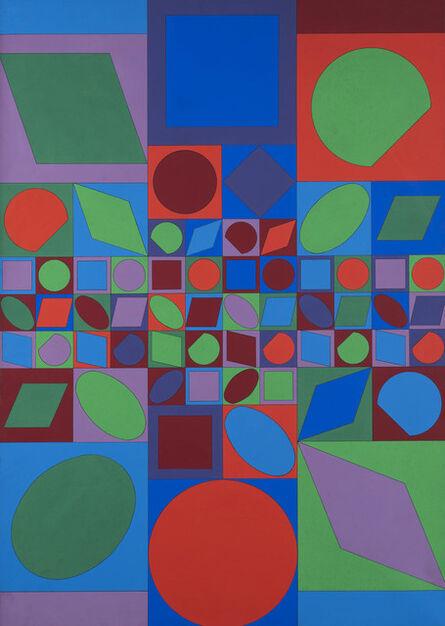 Victor Vasarely, 'Farbwelt', 1963-73