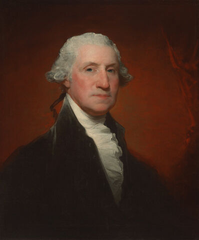 Gilbert Stuart, 'George Washington (Vaughan-Sinclair portrait)', 1795