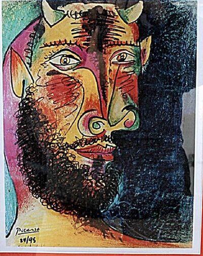 Pablo Picasso, 'Head of a Faun', ca. 1980