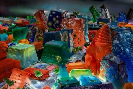 Liz Hickok, 'Jell-O Mold #2,San Francisco in Jell-O', 2009