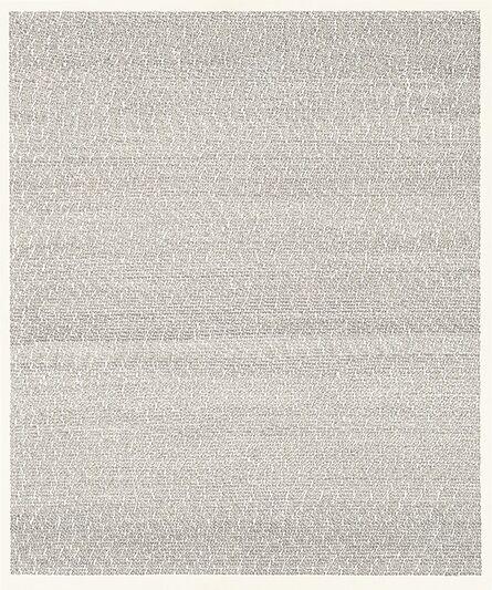 Roman Opalka, '1965/1- ∞, Detail 671891-676783 676 (carta da viaggio)', 1965