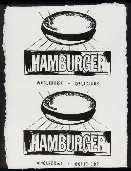 Andy Warhol, 'Double Hamburger', 1986