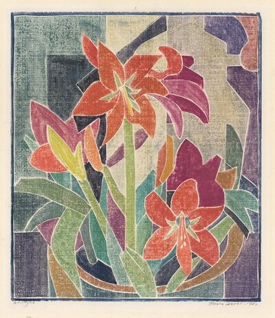 Blanche Lazzell, 'Amarylis.', 1930