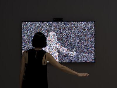 Rafael Lozano-Hemmer, '1984 x 1984', 2015