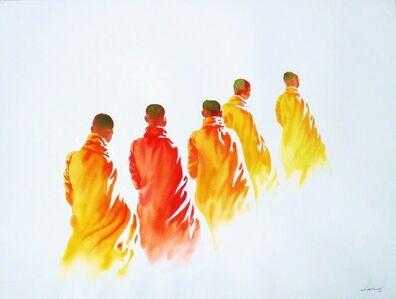 Min Wae Aung, 'Towards Monastery ', 2006-2010