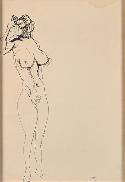 Renato Guttuso, 'Untitled (Nude)'