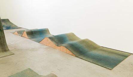 Phillip Zach, 'wave (peak to peak)', 2014