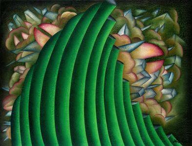 Antonio Henrique Amaral, 'HALF HIDDEN', 1992