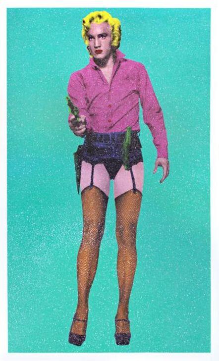 Henry Hate, 'Diva Las Vegas (Turquoise)', 2015