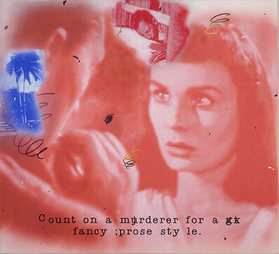 Vernon Fisher, 'Fancy', 2001