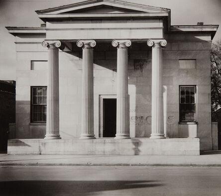 Walker Evans, 'Greek Revival Building, Natchez, Mississippi', 1936