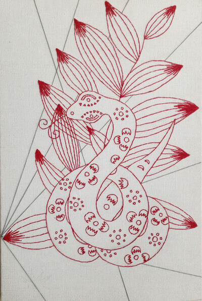 Yi Zhou, 'Snake Abstraction', 2013