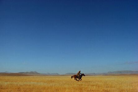 William Albert Allard, 'Lone Rider', 1974