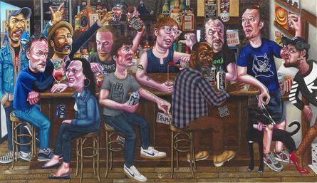 Tom Sanford, 'The Uptown Bourbon Bar', 2019-2020